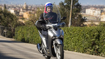 Honda SH 125i e 150i MY 2017 - press test