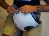 Aerografare un casco - parte prima