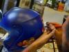 Aerografare un casco - parte terza