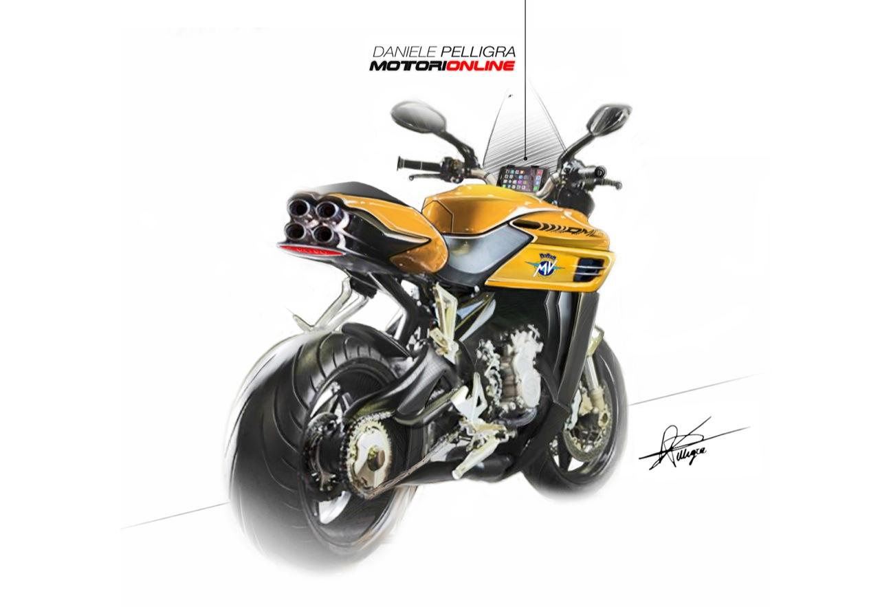 AMG MV Agusta by Daniele Pelligra