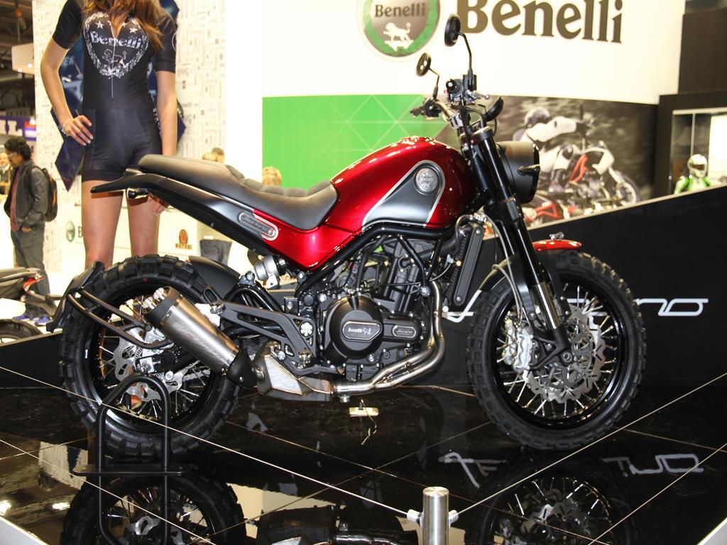 Benelli Leoncino - EICMA 2015
