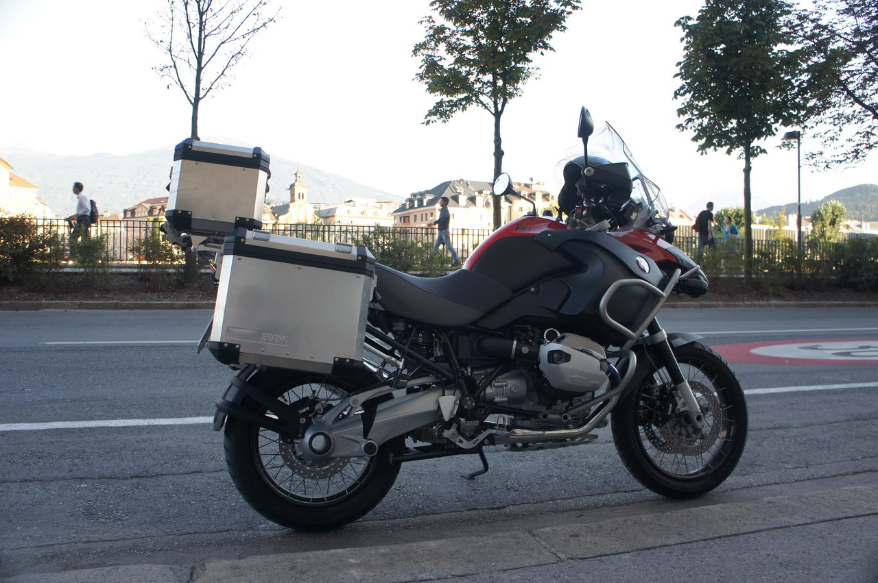 BMW R1200GS Adventure - Prova su strada