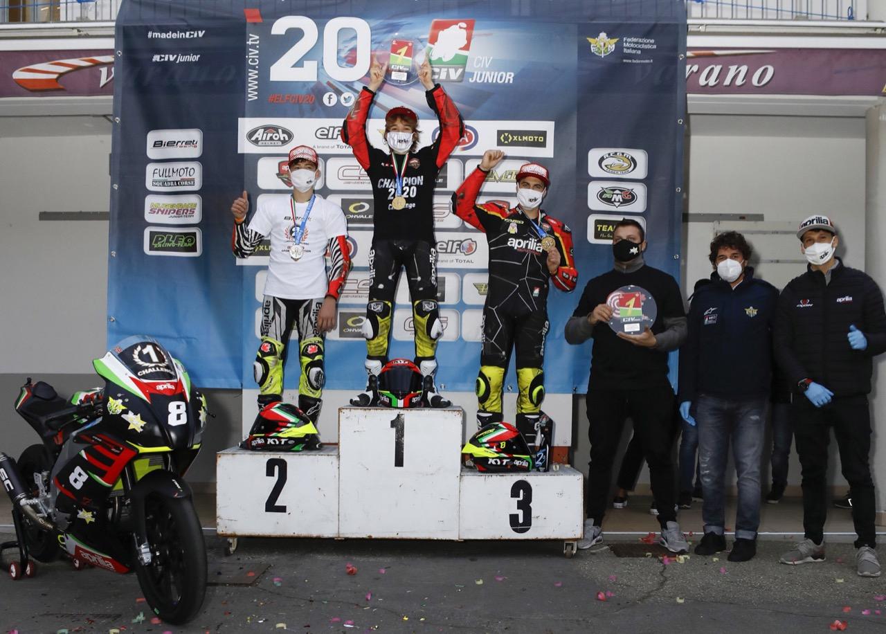 Campionato Italiano FMI Aprilia Sport Production 2020 - ultima tappa