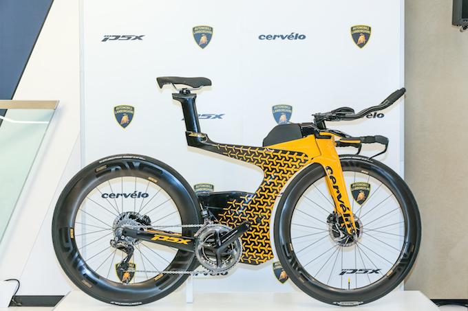 Cervelo P5X Lamborghini edition