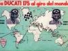 Ducati 175 - giro del mondo tra 1957 e 1958