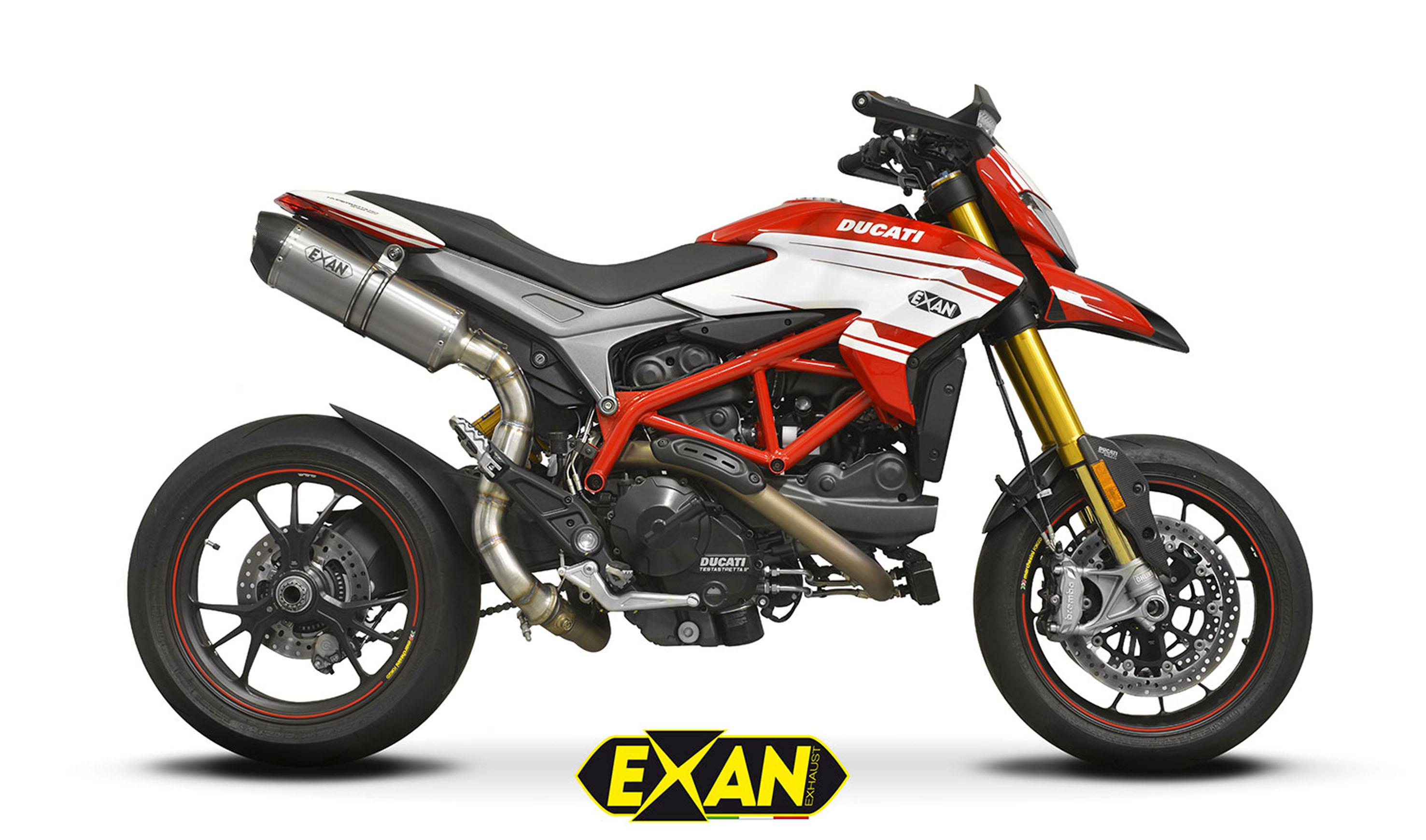 Ducati Hypermotard 939 e Hyperstrada 939 Exan