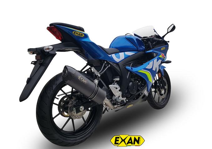 Exan per Suzuki GSX-R  125