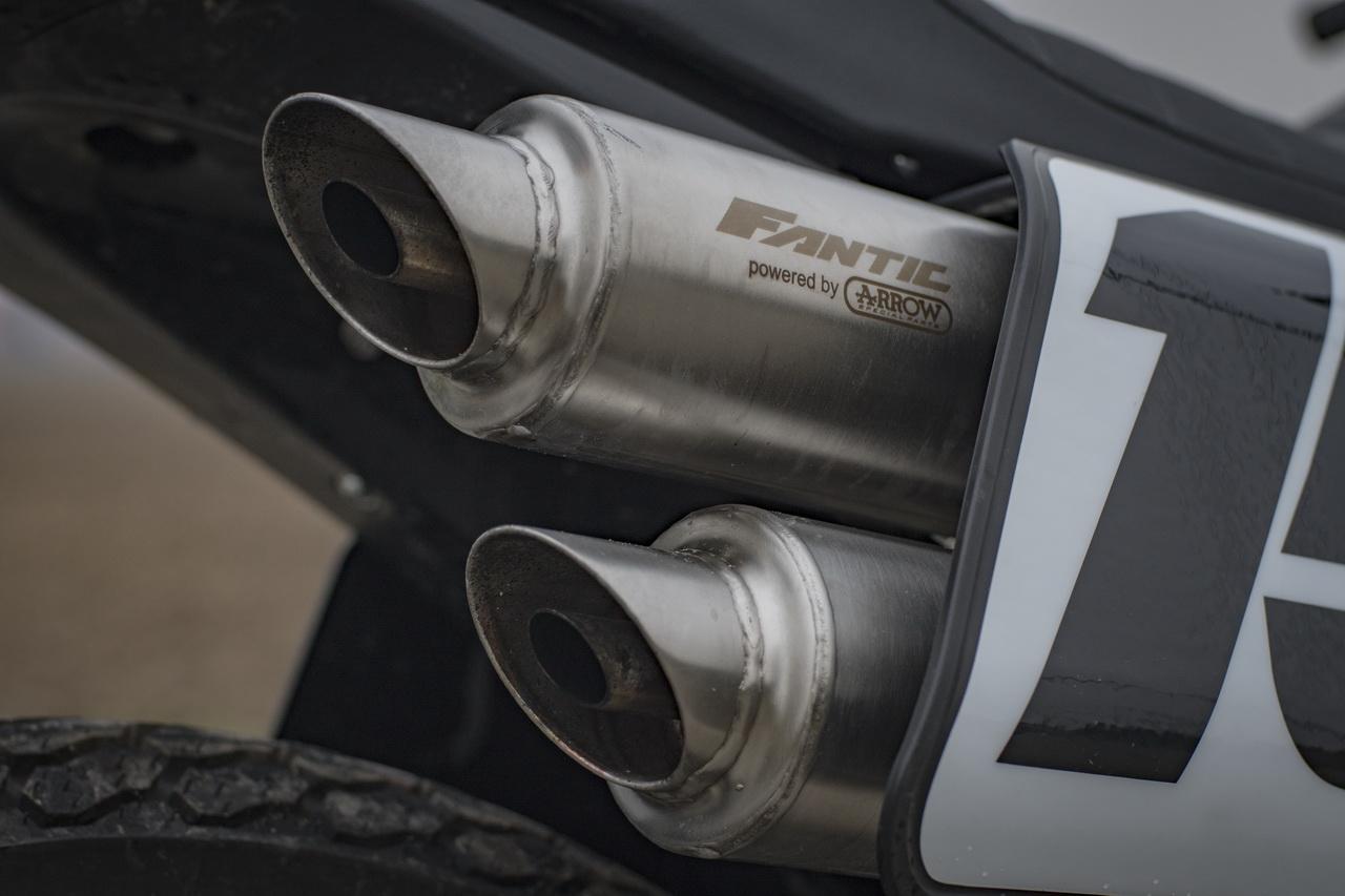 Fantic Motor Caballero 125 Flat Track 4T - Prova su strada 2018
