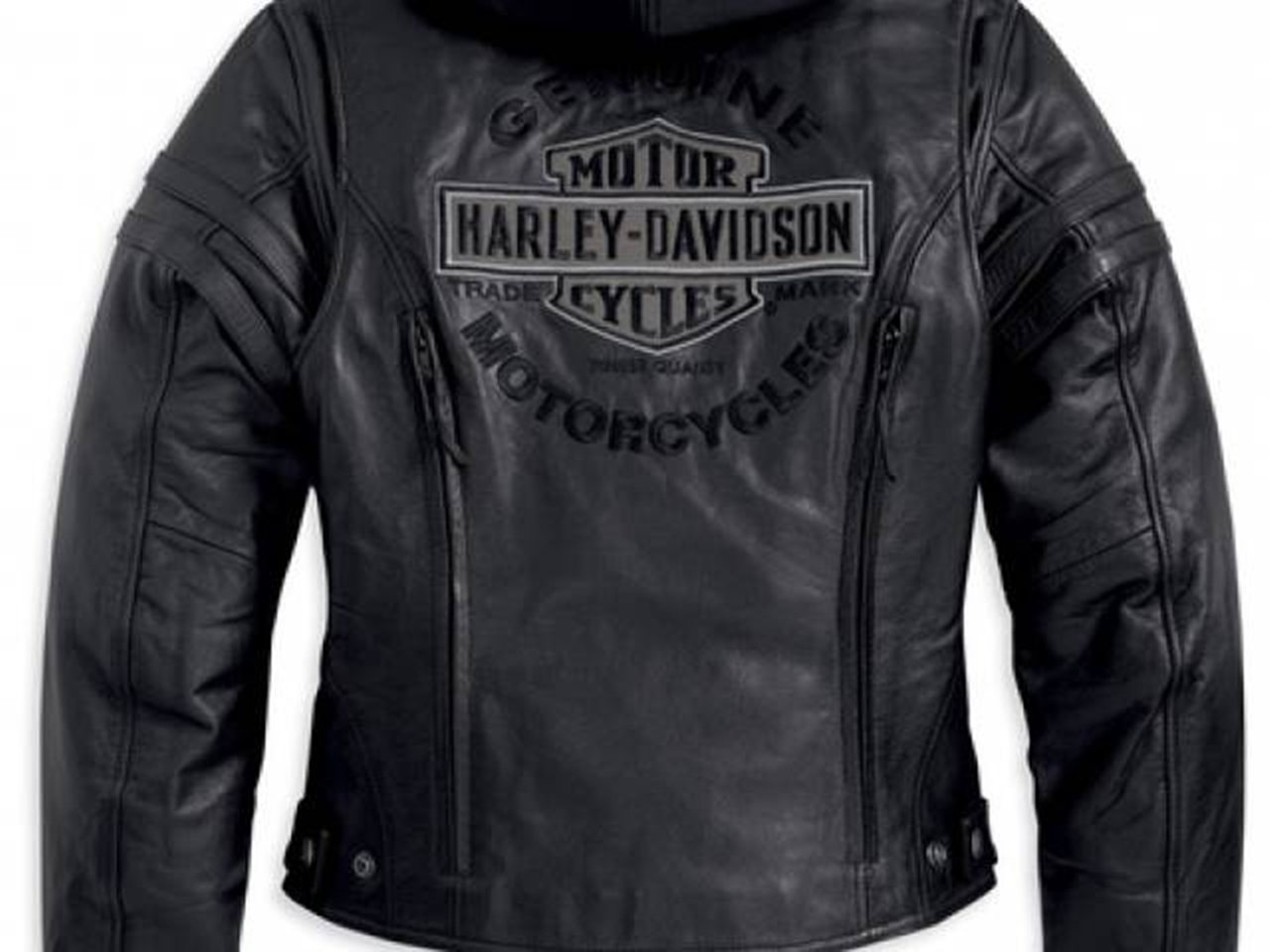 Harley-Davidson® leather jackets, boots & rain suits for the biker who likes to ride all year long. We are located in Oconomowoc Wisconsin – right in the heart of Harley® Milwaukee land. Feel comfortable with Genuine H-D® jackets, tee shirts, boots, fashion clothing & accessories.
