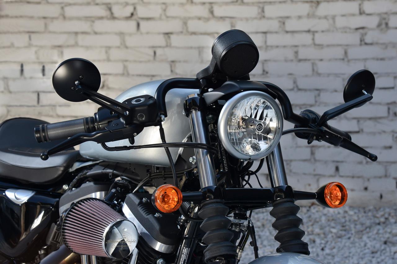 Harley Davidson Wearecustom Foto Ufficiali Dark Custom