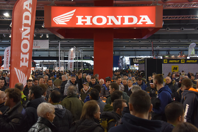 Honda al Motor Bike Expo 2018