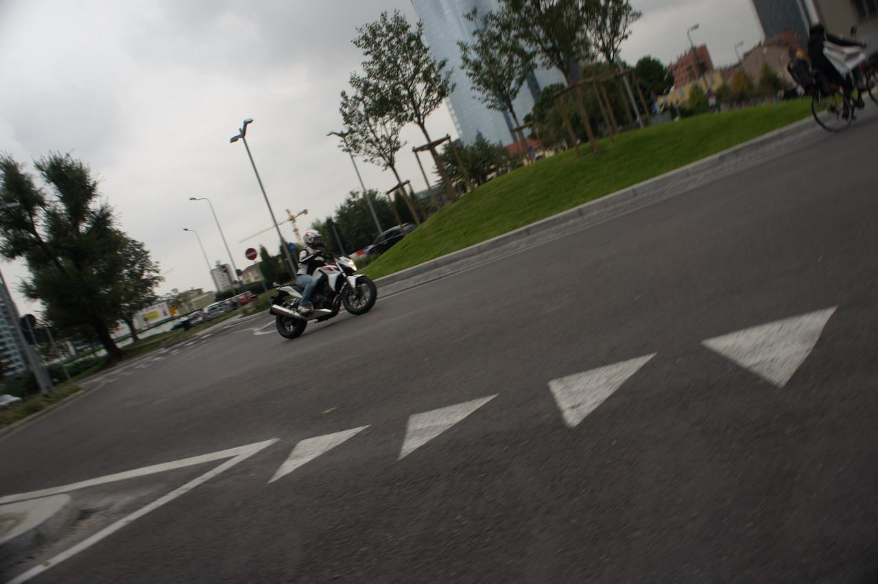 Honda  CB 500 F ABS – Prova su strada