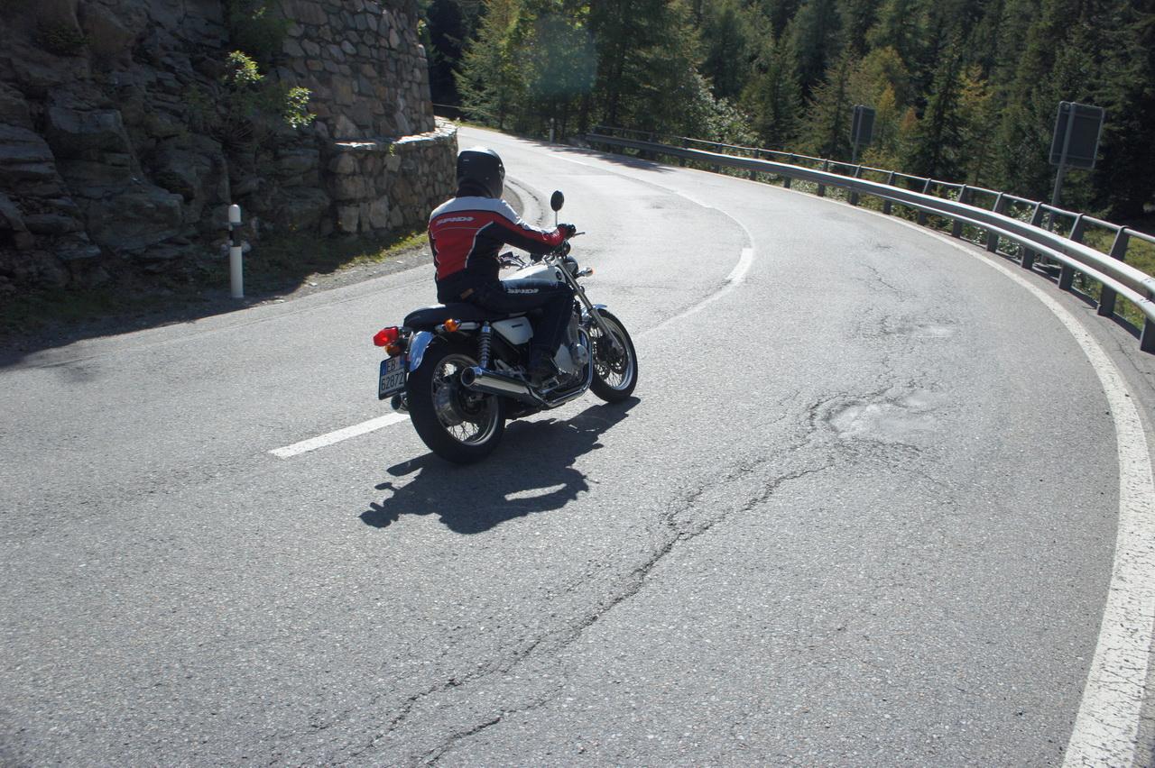 Altre Foto della Galleria: Honda CB1100 EX - Prova su strada 2014