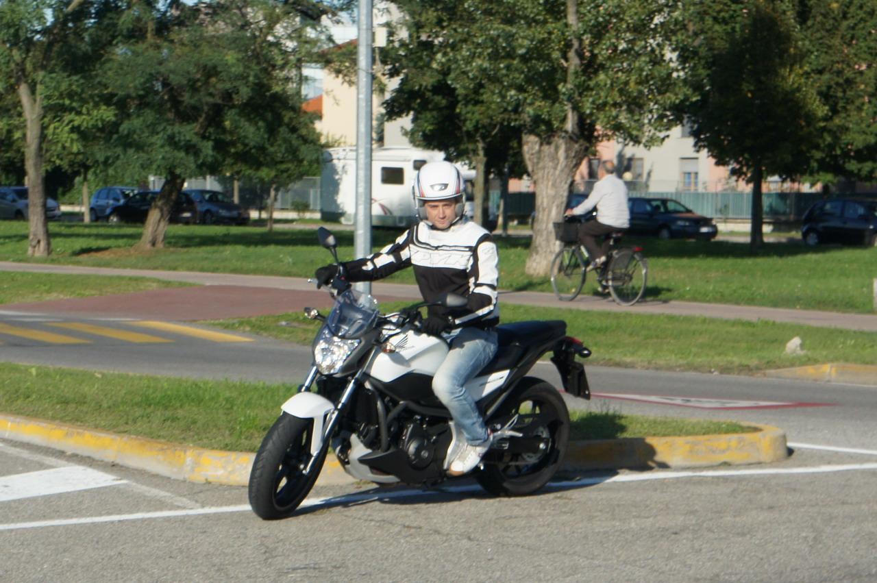 Honda NC700S DCT - Prova su strada
