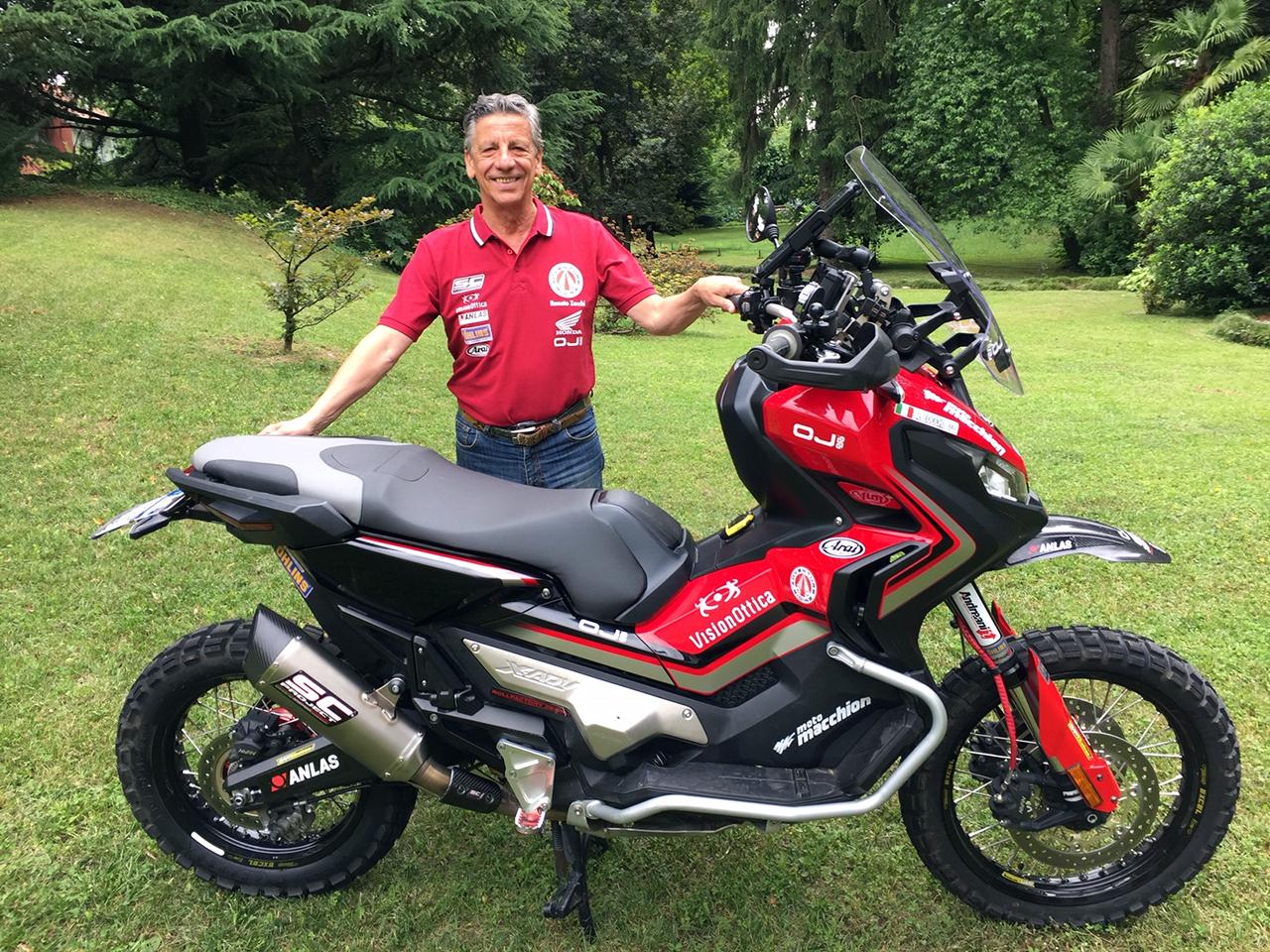 Honda X-ADV e Renato Zocchi - 2019