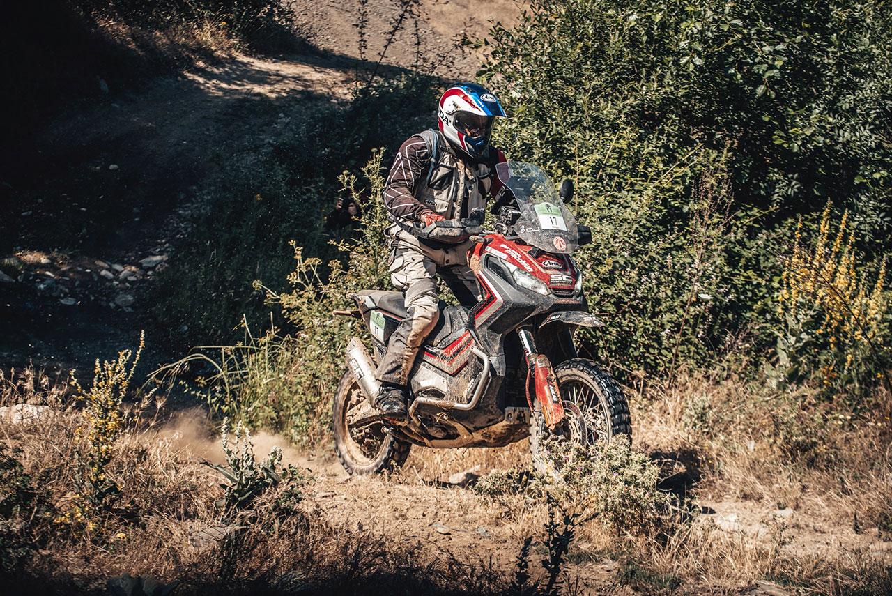 Honda X-ADV e Renato Zocchi - anteprima Transitalia Marathon 2019