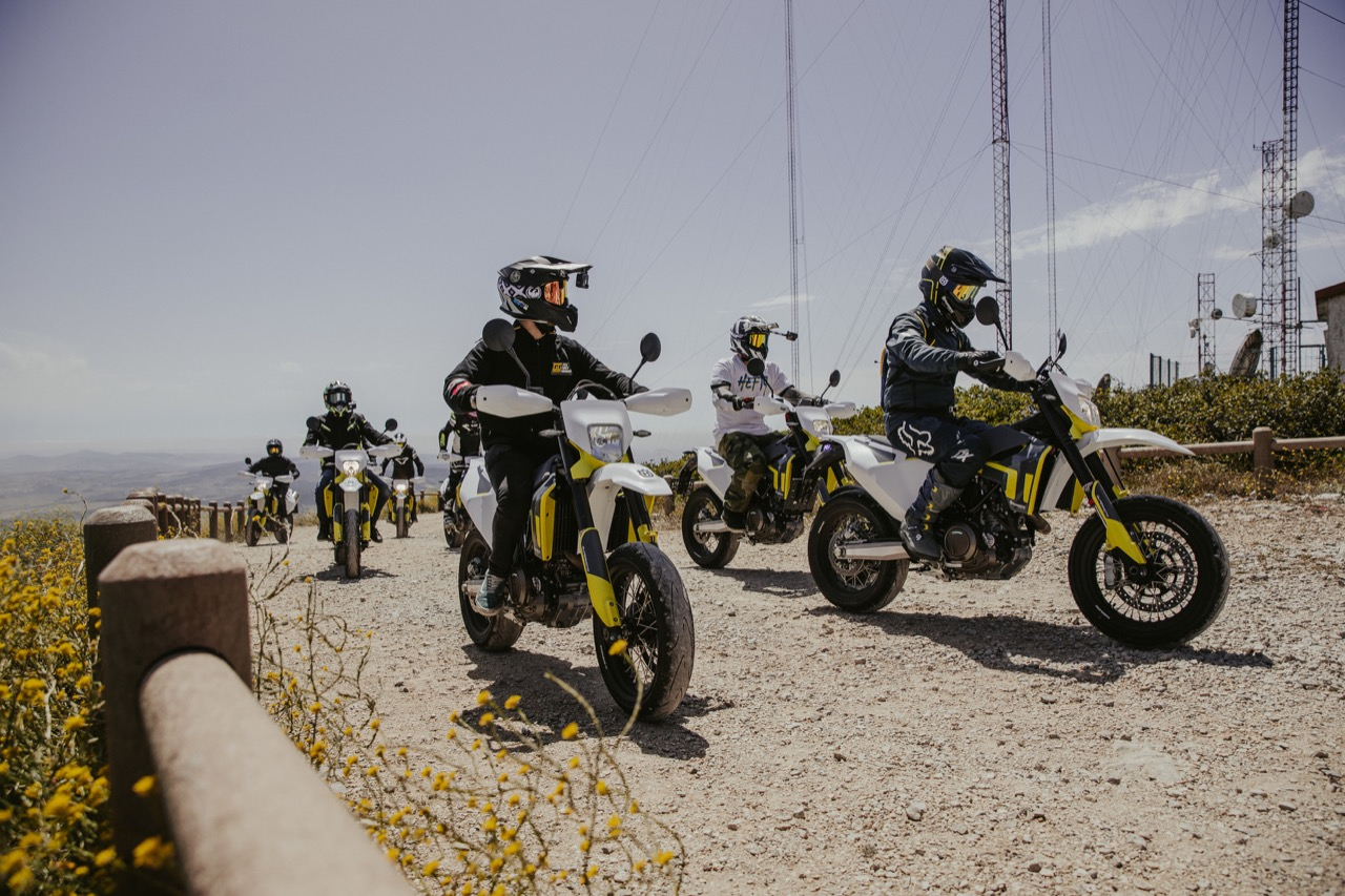 Husqvarna Motorcycles 701 Supermoto Ride Out - foto 2021