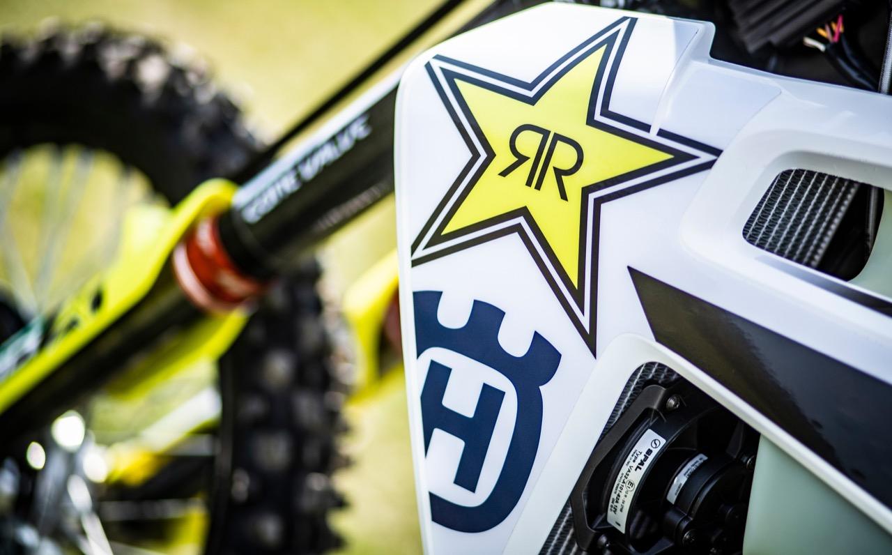Husqvarna Motorcycles - prolungata collaborazione con Rockstar Energy Drink