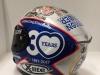 Il casco speciale di Petrucci per il GP di Valencia
