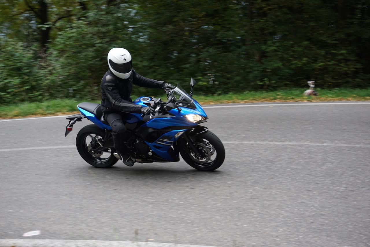 Kawasaki Ninja 650 - Prova su strada 2017