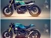 Kawasaki Ninja ZX-10R Scrambler by Holographic Hammer