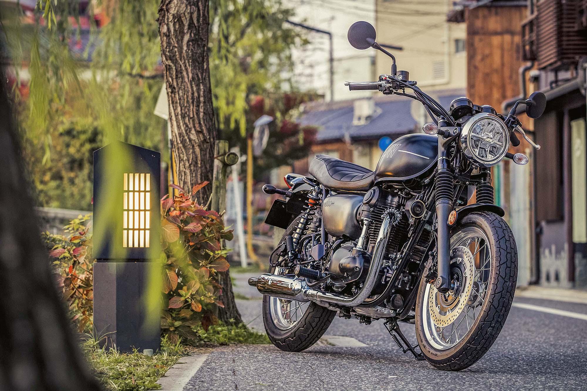 Kawasaki W800 Street E W800 Cafe 16