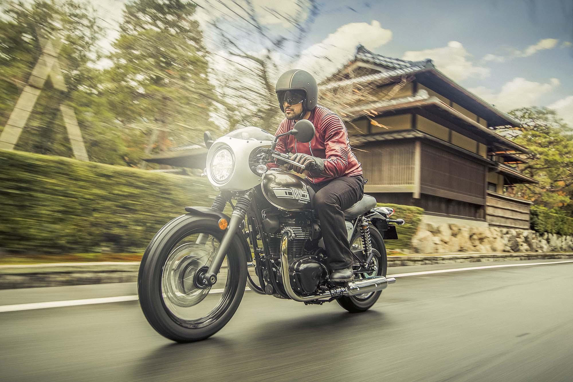 Kawasaki W800 Street E W800 Cafe 26