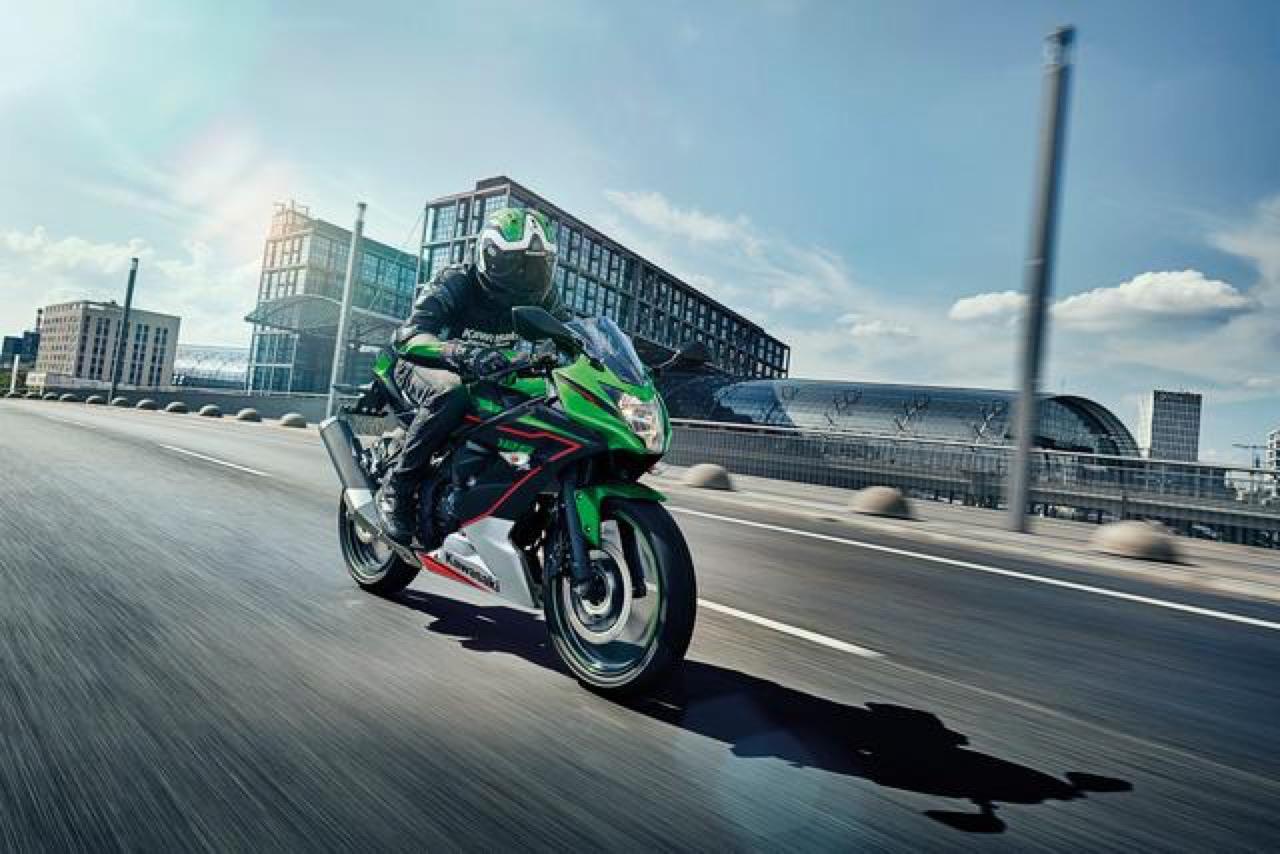 Kawasaki Z125 e Ninja 125 - esemplari per 2021