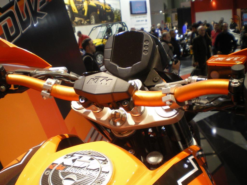 KTM 125 Duke - EICMA 2010
