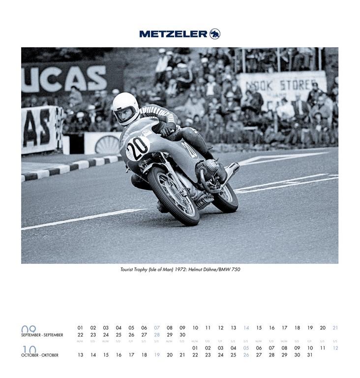 Metzeler Calendario 2014
