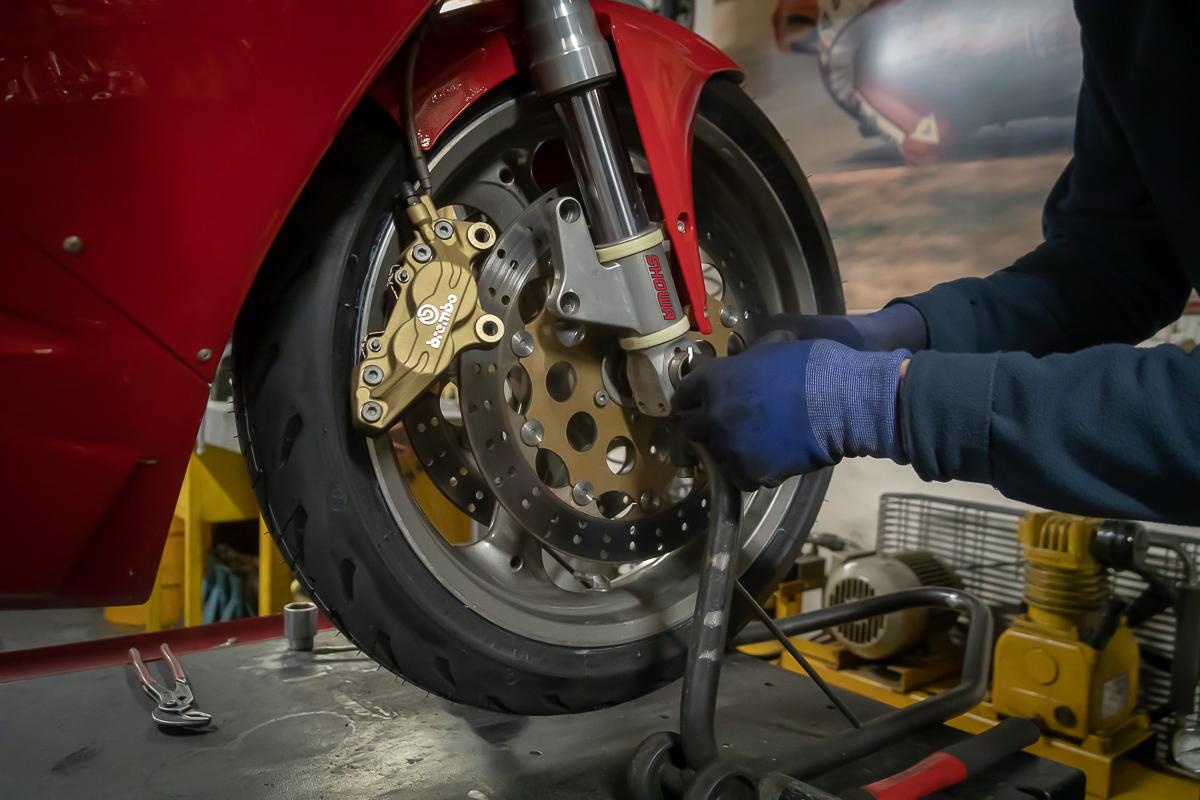 Michelin Road 5 Prova su strada 2019