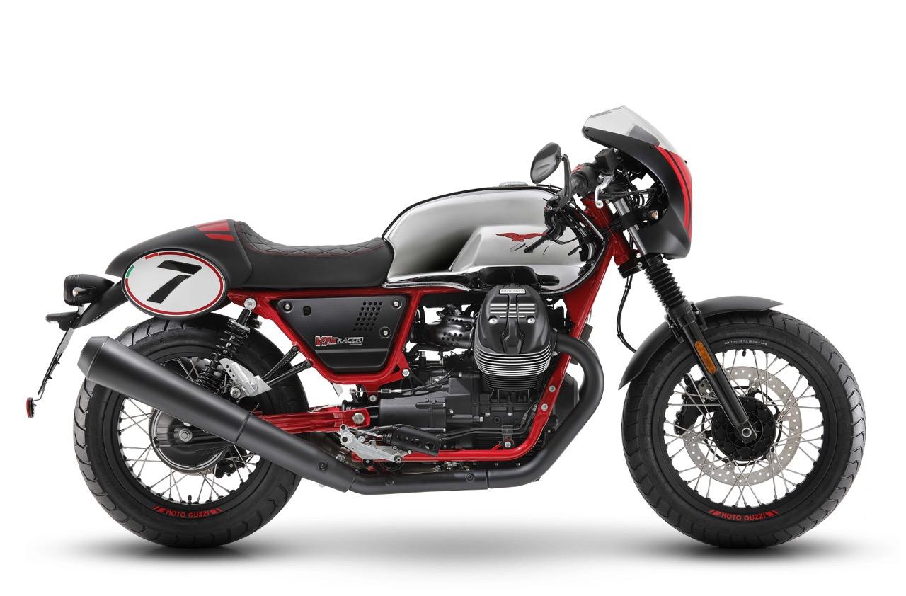 Moto Guzzi V7 III Racer 10th Anniversary e Stone S - foto