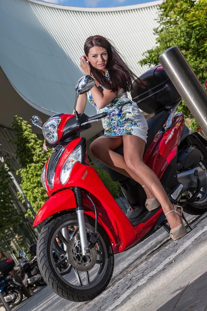 Motor Bike Expo 2014 Kymco