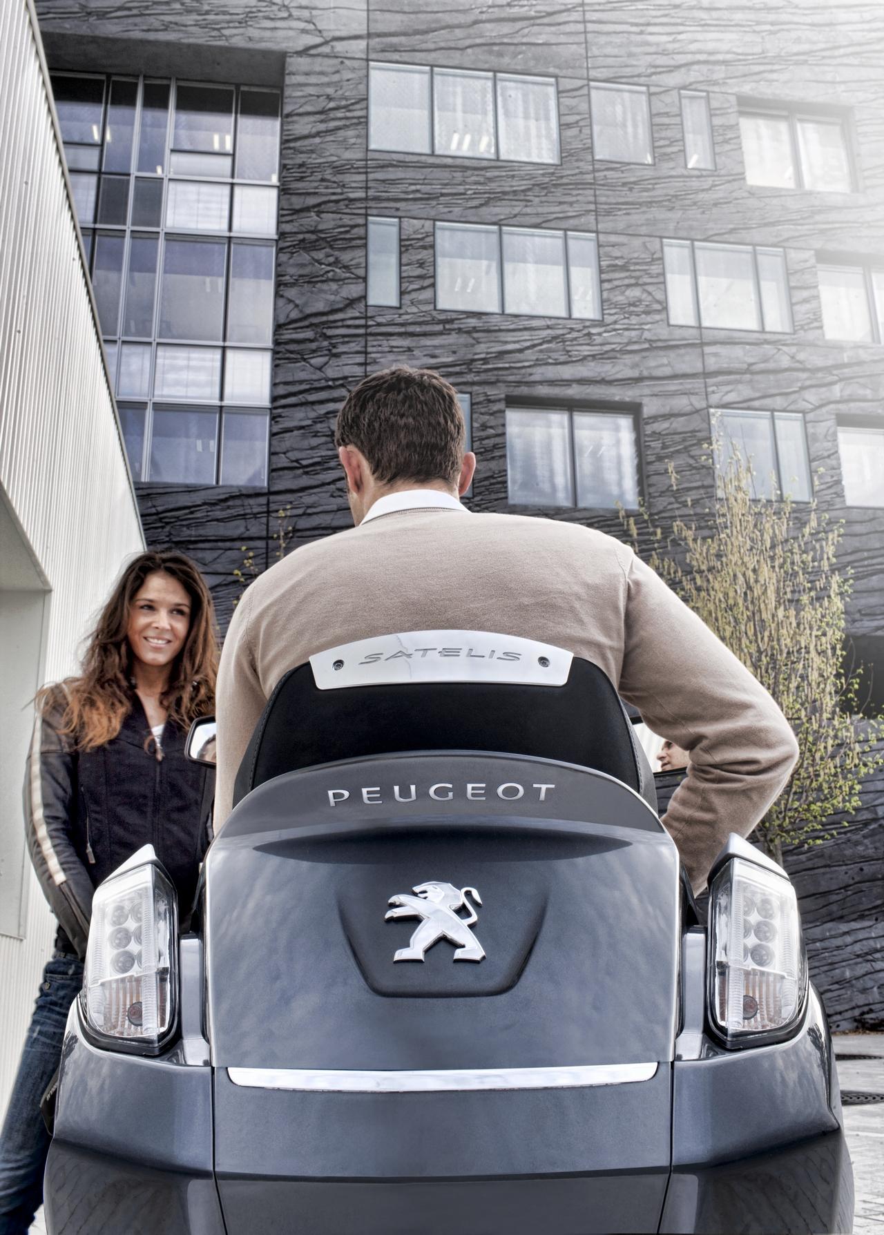 Peugeot Satelis - EICMA 2012