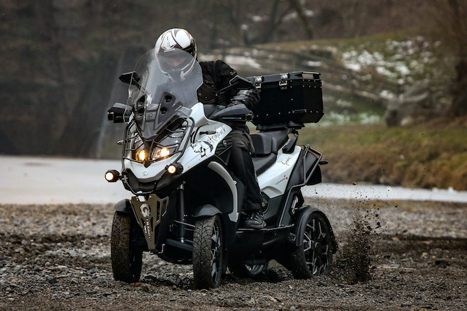 Quadro Vehicles Quadro4 con sospensioni HTSTM