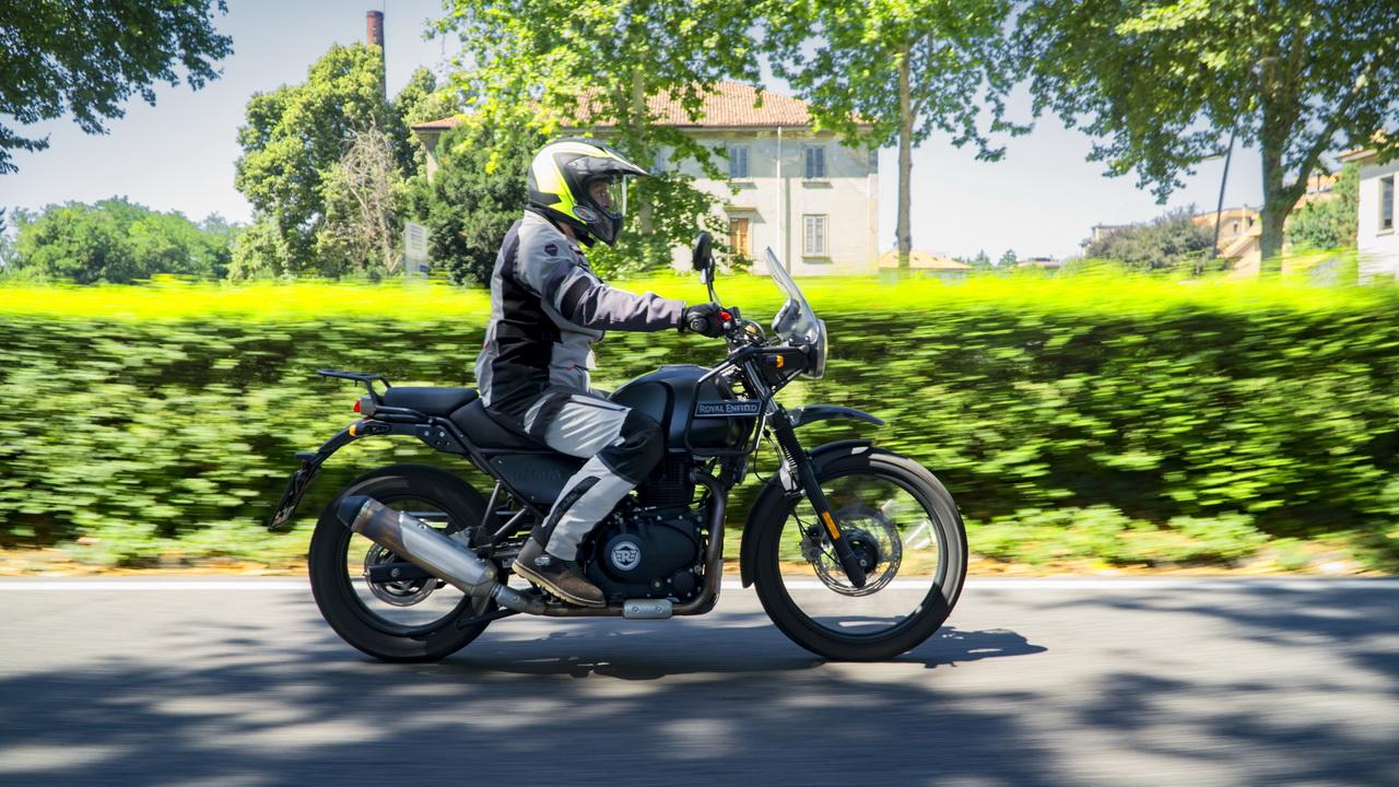Royal Enfield Himalayan - prova su strada 2018