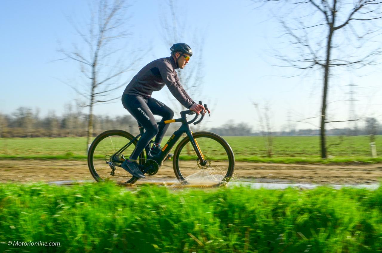 Stajvelo Montangel Pirelli CYCL-e around - prova su strada 2021