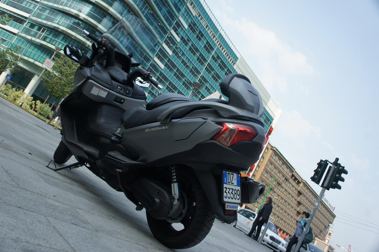 Suzuki Burgman 650 Executive - Prova su strada
