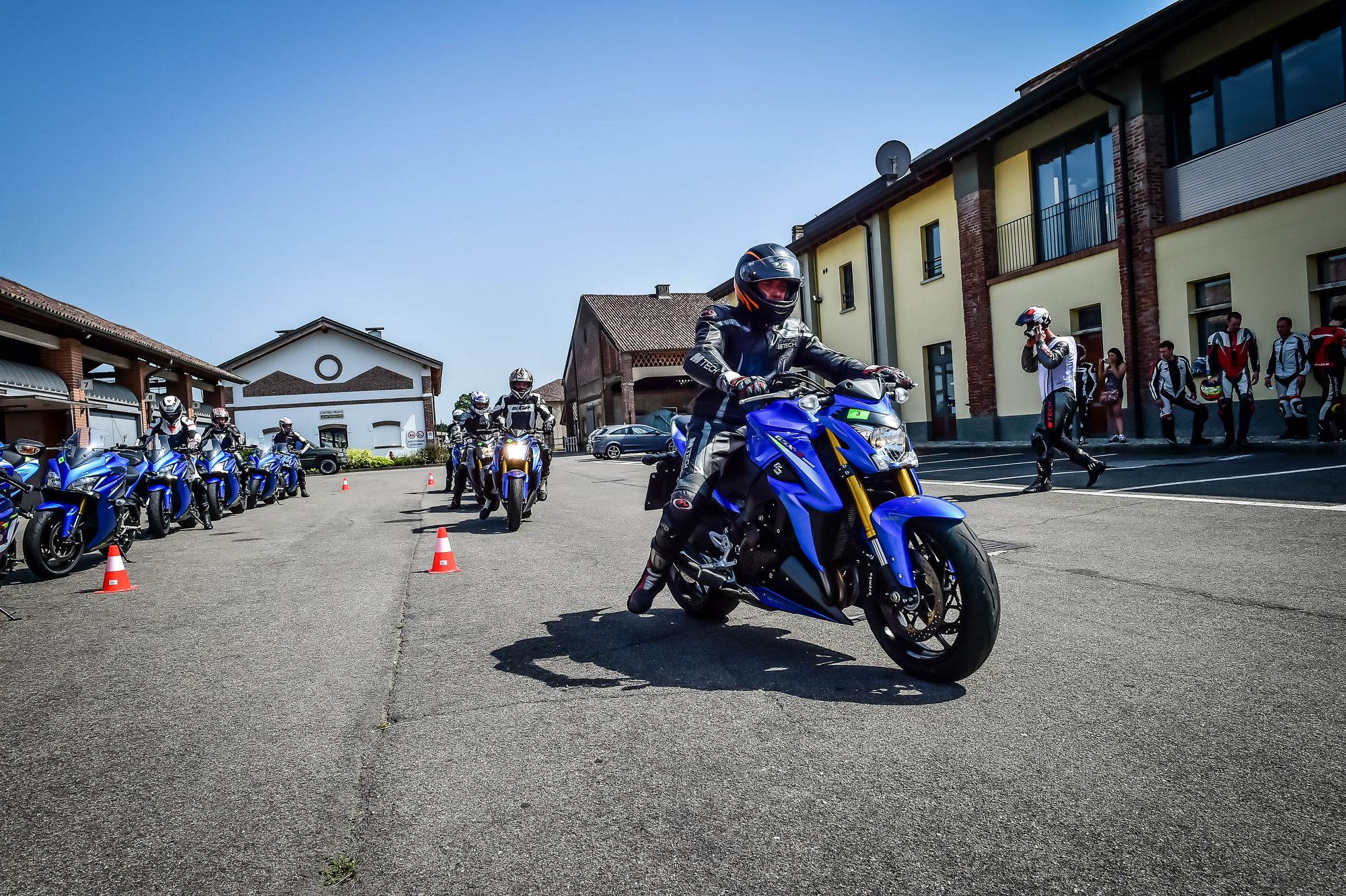 Suzuki GSX-S1000 ABS e GSX-S1000F ABS - Test Ride Vairano