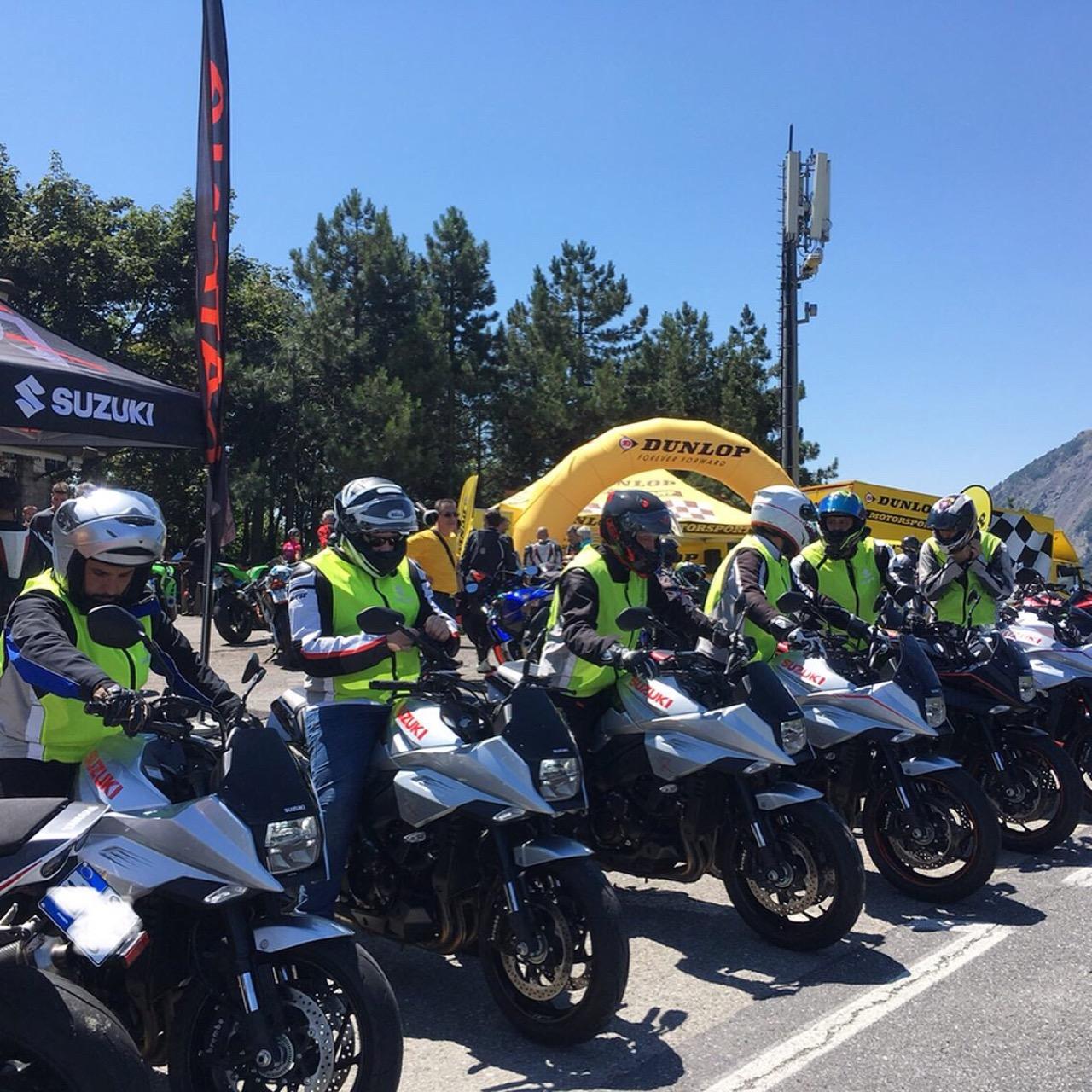 Suzuki Katana Hill Climb Tour - anticipazione tappa a Bormio