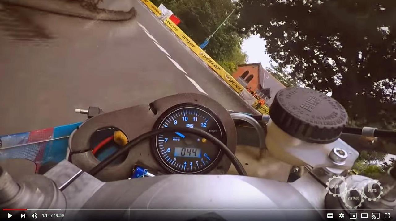 Suzuki RG500 - Classic TT 2018 e 2019