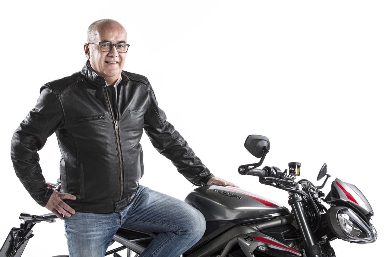 Triumph Motorcycles Italia - Angelo Cripps Aftersales Commercial Manager