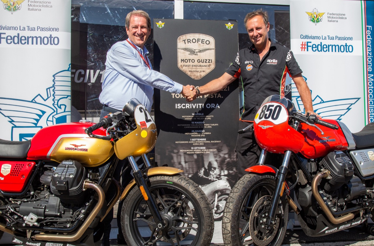 Trofeo Moto Guzzi Fast Endurance - verso finale 2019