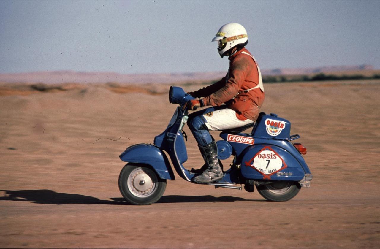 Vespa - storiche racing e avventure