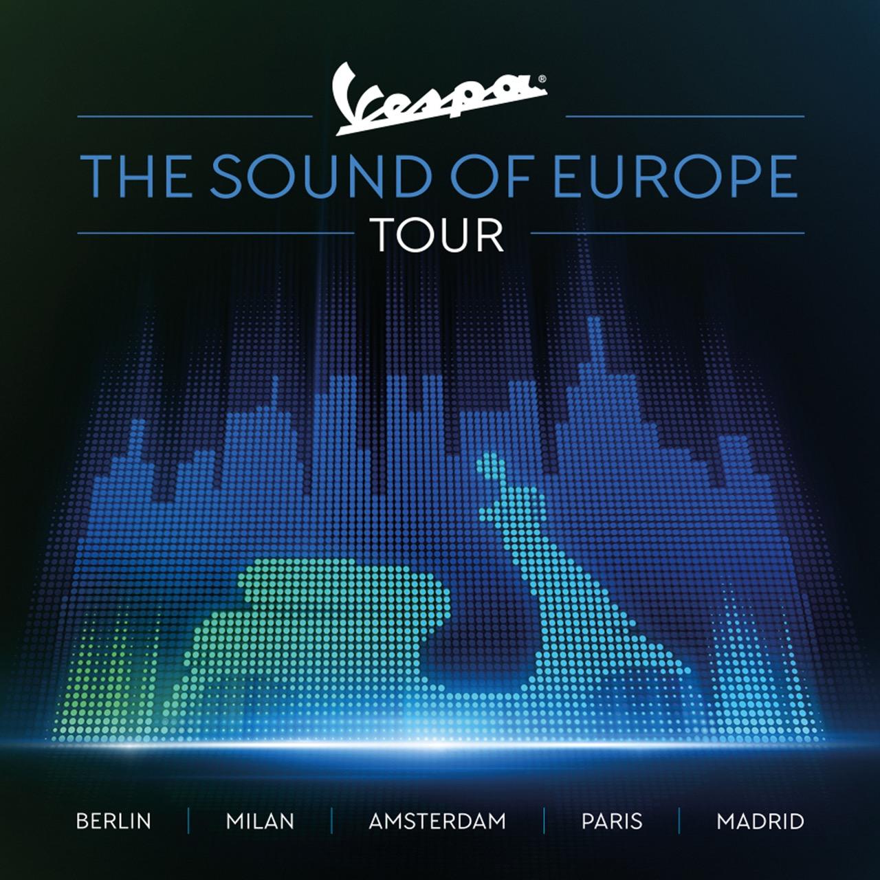 Vespa - The Sound of Europe Tour 2019