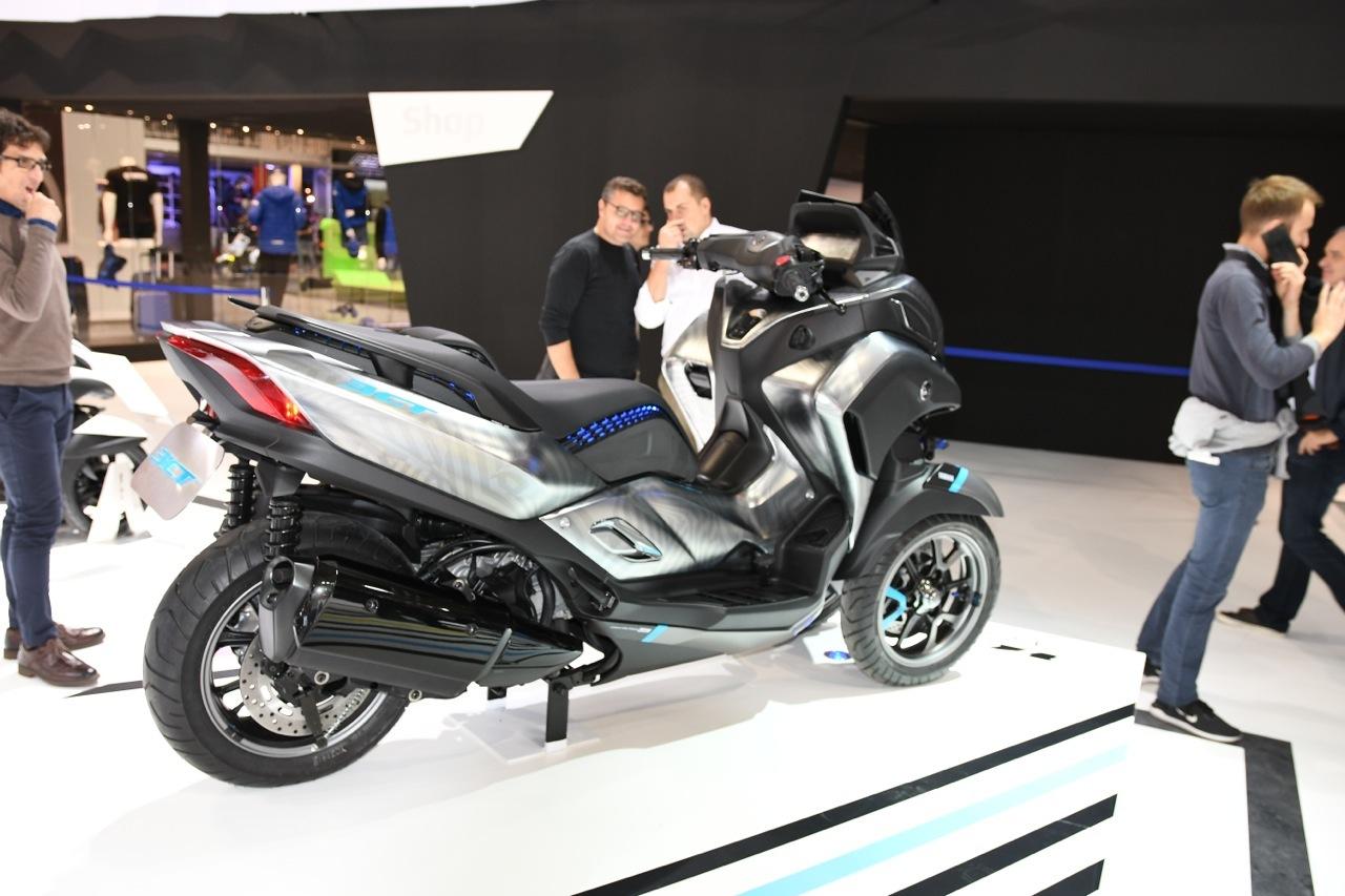 Yamaha 3CT Concept - EICMA 2018
