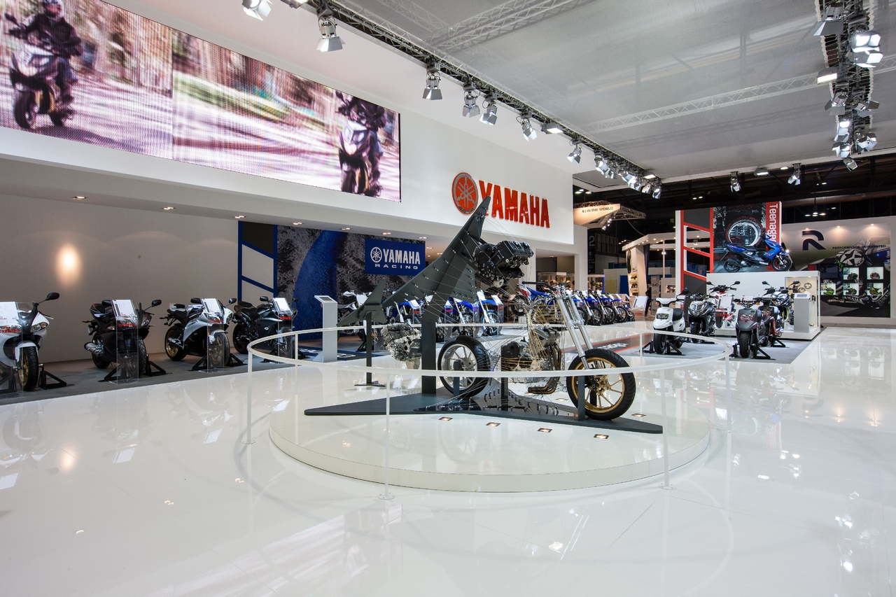 Yamaha ad EICMA 2012 - Foto LIVE
