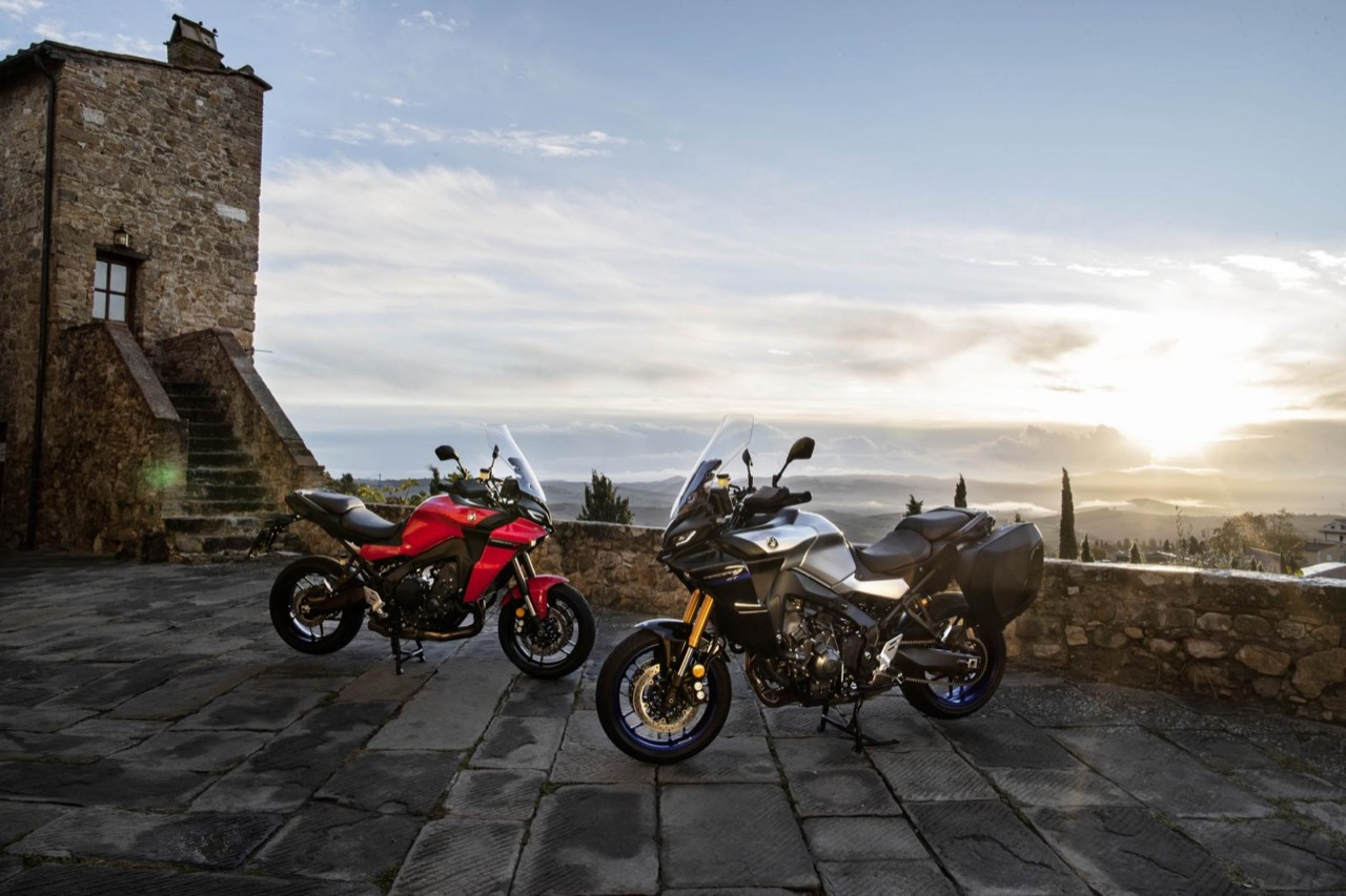 Yamaha Tracer 9 e Tracer 9 GT 2021 - foto