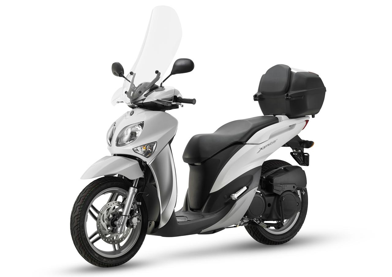 Yamaha Xenter Nuovo Parabrezza Alto on Honda Mot