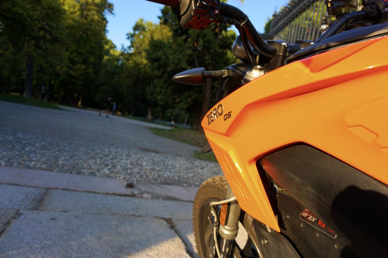 Zero Motorcycles DS ZF6.5 11 kW - prova su strada 2017